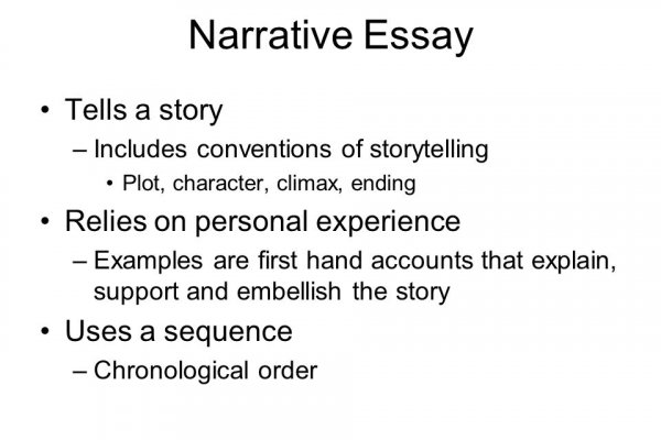 ?narrative organizer essay A narrative is an essay that tells a story in this case, the story will be about you this formal essay should follow the format you have been given as with all formal essays, it should be.